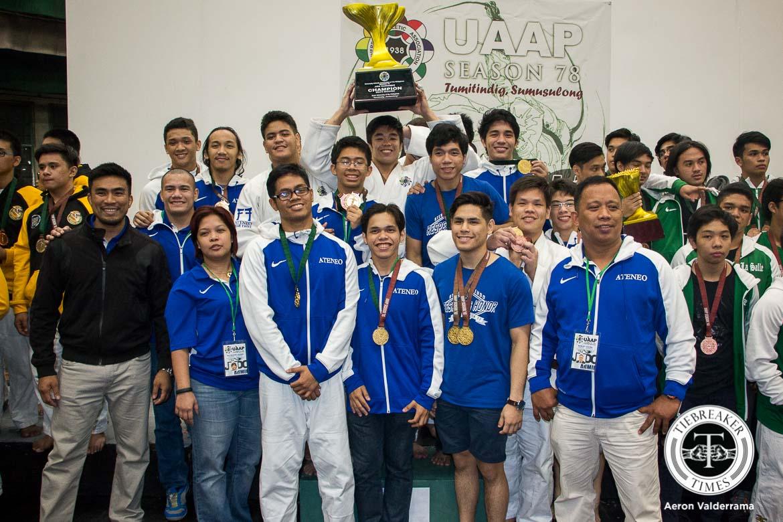 Philippine Sports News - Tiebreaker Times Sulit all praises for Ateneo Judo Judo