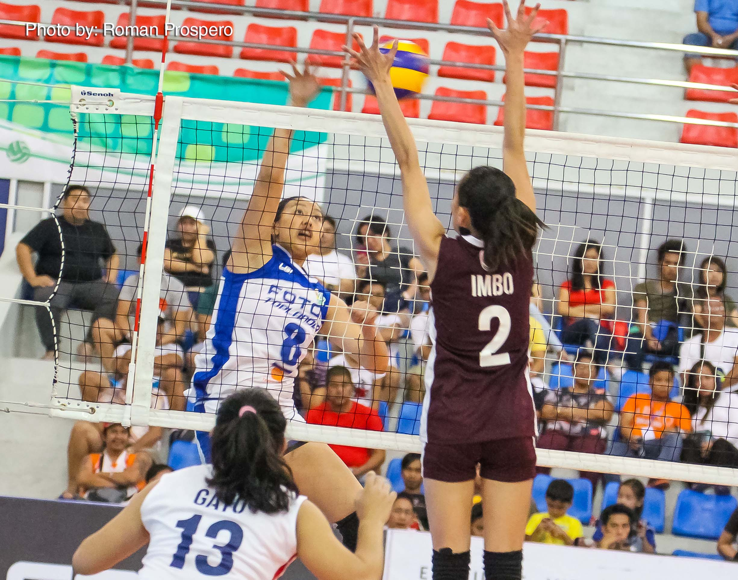 Tiebreaker Times Foton barges into win column, tops New San Jose News PSL Volleyball  Patty Orendain New San Jose Builders Victorias Maika Ortiz Lourdes Clemente Jamela Suyat Foton Toplanders Danna Henson Cindy Imbo 2016 PSL Invitational Cup