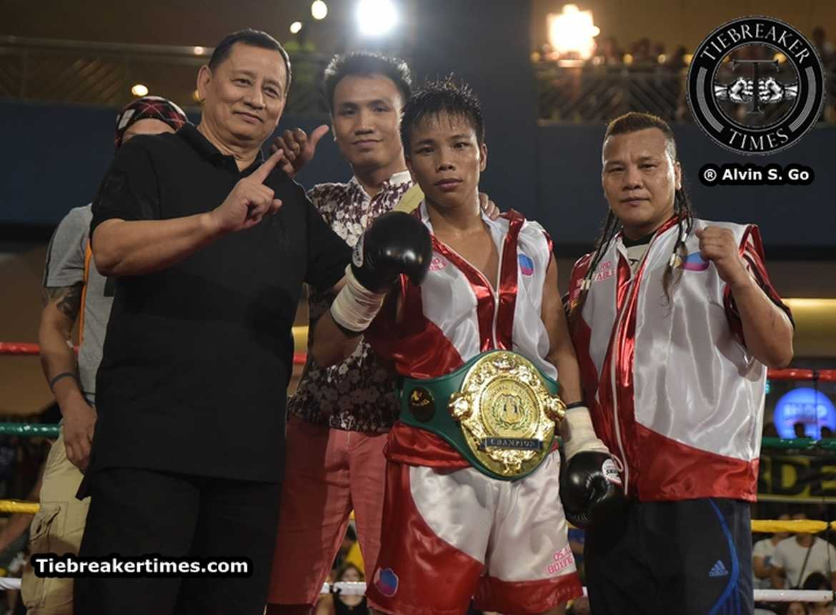 Tiebreaker Times Landero dethrones Sumalpong; WBC International Super BW title remains vacant Boxing News  Toto Landero Seo Da Won Rolly Sumalpong Rolando Niones Menard Zaragoza Menard Avila Meljun Penapil Marco Niones Kyota Otsuka Jung Mum Sun Joe Noynay Jeffrey Arienza Glenn Medura Germaine dela Rosa Ernie Mino Jr. Eranio Semillano Elorde Promotions Night of Champions Elorde Boxing Edsil Jungco Arnel Baconaje Allan Vallespin Alie Laurel