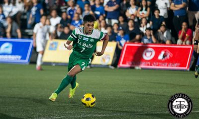Tiebreaker Times Co-captains urge Green Archers to step up in pursuit of title DLSU Football News UAAP  UAAP Season 78 Men's Football UAAP Season 78 Nace Gonzales Gelo Diamante DLSU Men's Football Team
