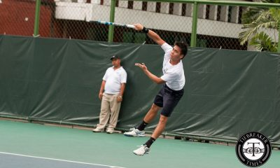 Tiebreaker Times Ateneo squeaks past UST to close first round of campaign ADMU News Tennis UAAP UST