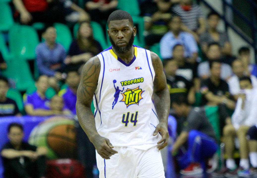 Tiebreaker Times Johnson ban lifted; penalty reduced to season-long suspension, 150K fine Basketball News PBA  Talk N Text Tropang Texters PBA Season 41 Ivan Johnson 2016 PBA Commissioners Cup