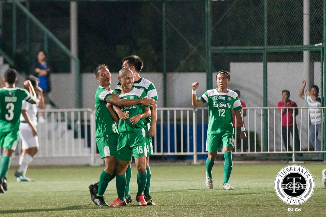 Tiebreaker Times Animo Spirit: Team comes first for rookie Jed Diamante DLSU Football News UAAP