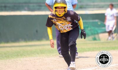 Tiebreaker Times Super senior RF Lacupa runs for that one moment News Softball UAAP UST  UST Tiger Softbelles UAAP Season 78 Softball UAAP Season 78 Kristine Lacupa
