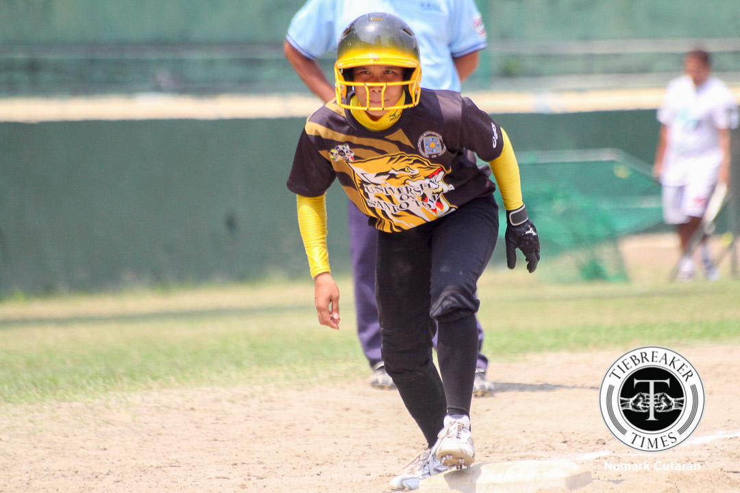 Tiebreaker Times Tiger Softbelles dismantle Lady Bulldogs, yet to lose in 2nd round News NU Softball UAAP UST  UST Tiger Softbelles Sandy Barredo NU Softball Mia Macapagal Kristine Lacupa Edgar delos Reyes CJ Roa Charm Oria Ann Antolihao