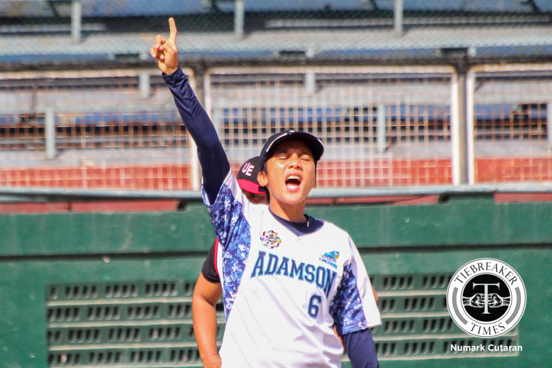 Tiebreaker Times When the moment calls, 'Primetime' Paguican answers AdU News Softball UAAP  UAAP Season 78 Softball UAAP Season 78 Krisna Paguican Adamson Softball