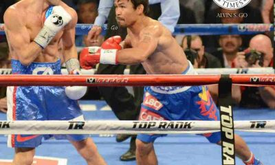 Tiebreaker Times REPORTS: Pacquiao picks Vargas for return bout Boxing News  Top Rank Boxing Michael Koncz Manny Pacquiao Jessie Vargas Bob Arum