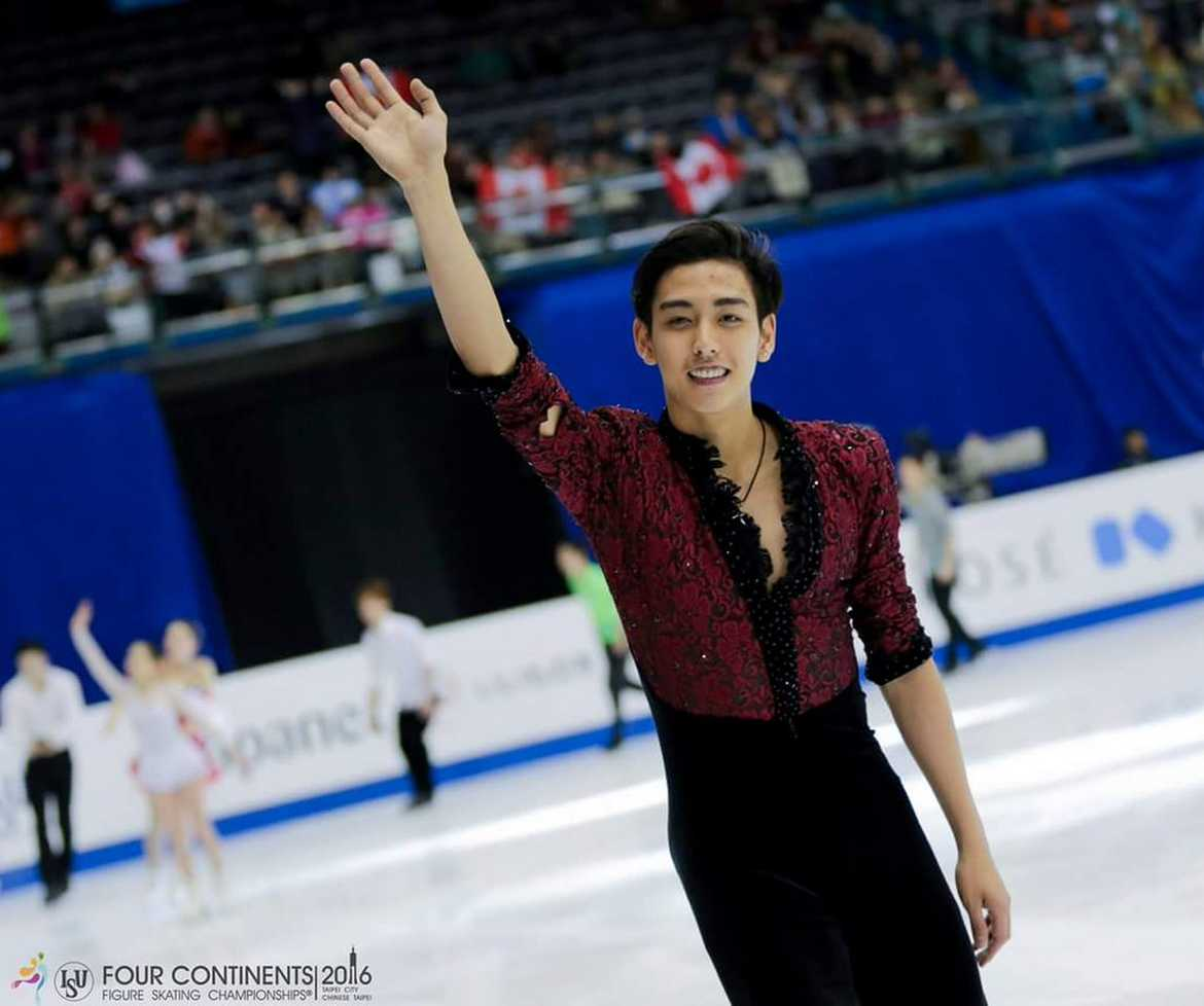 Philippine Sports News - Tiebreaker Times Michael Martinez reflects on 4CC, plans for Worlds Figure Skating News  Michael Martinez 2016 World Figure Skating Championship 2016 Four Continent Figure Skating Championship