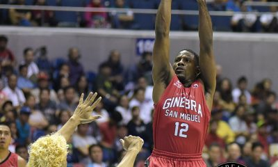 Tiebreaker Times NSD: Jeffers overcomes physical encounter, back problems to help Ginebra Basketball News PBA  PBA Season 41 Othyus Jeffers Barangay Ginebra San Miguel 2016 PBA Commissioners Cup
