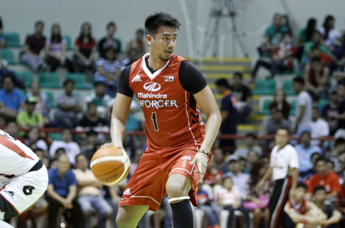 Philippine Sports News - Tiebreaker Times Triple-savvy Ramos, Canaleta lead Mahindra past San Miguel Basketball News PBA  Tyler Wilkerson San Miguel Beermen PBA Season 41 Marcio Lassiter Mahindra Enforcers Leo Austria LA Revilla KG Canaleta Chito Victolero Arwind Santos Aldrech Ramos 2016 PBA Commissioners Cup