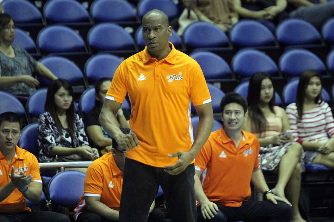 Tiebreaker Times With more chemistry and confidence, Meralco is on the rise Basketball News PBA  PBA Season 41 Norman Black Meralco Bolts Cliff Hodge 2016 PBA Commissioners Cup
