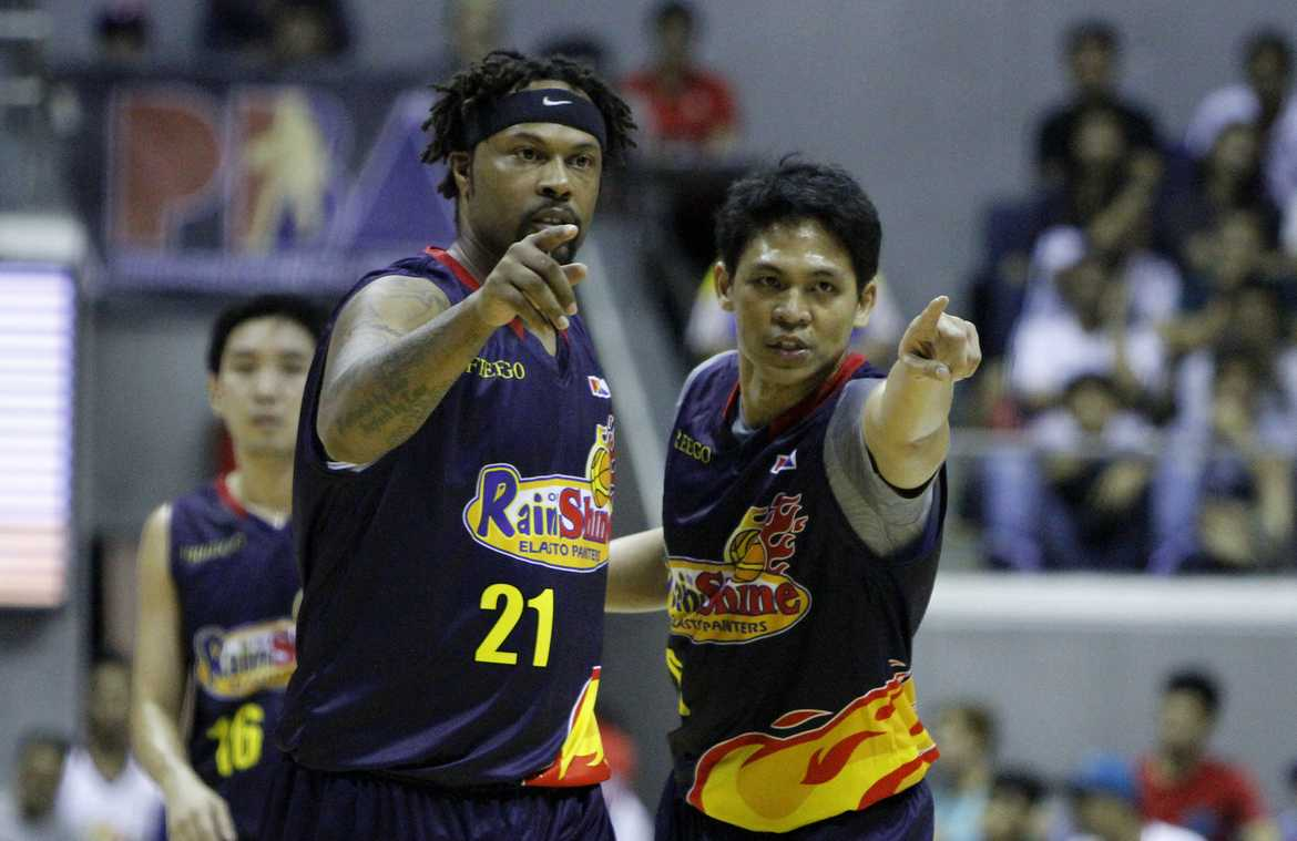 Tiebreaker Times With Wright playing better, Guiao says ROS will evaluate again Basketball News PBA  Yeng Guiao Rain or Shine Elasto Painters PBA Season 41 Antoine Wright 2016 PBA Commissioners Cup