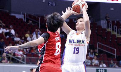 Tiebreaker Times NLEX, TNT open PBA-Tag Heuer 3-on-3 women's tournament with wins 3x3 Basketball News PBA  Talk N Text Tropang Texters PBA Season 41 NLEX Road Warriors Nelia Sinsioco Katherine Sandel Karen Salopong Jaclyn Cruz Globalport Batang Pier Analyn Almazan Alaska Aces 2016 PBA-Tag Heuer Women's 3-on-3