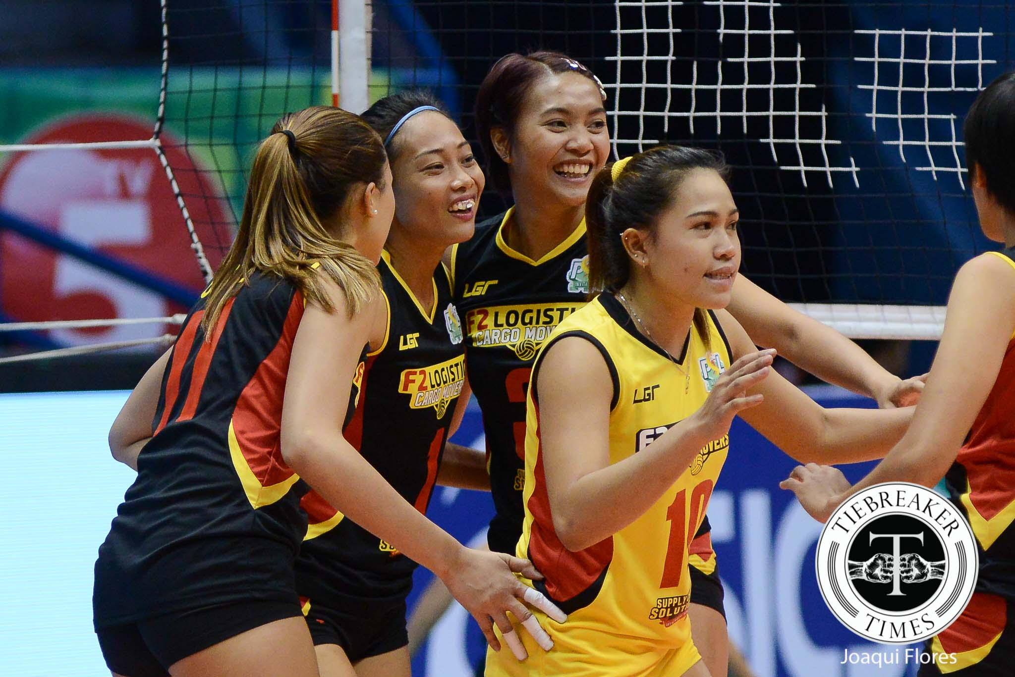Tiebreaker Times New team, same swagger for Aby Maraño News PSL Volleyball  F2 Logistics Cargo Movers Aby Marano 2016 PSL Invitational Cup
