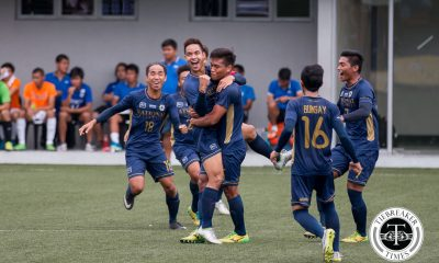 Tiebreaker Times Bulldogs prove they have heart to reach the Final Four Football News NU UAAP  UAAP Season 78 Men's Football Tournament UAAP Season 78 Paolo Salenga NU Men's Football Team NU Bulldogs Lem Laranas Chima Uzoka
