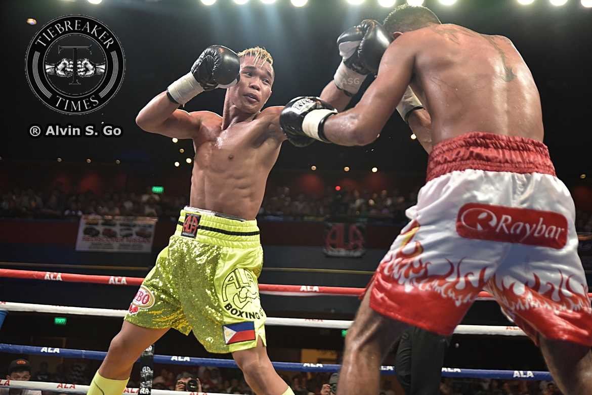 Tiebreaker Times Pagara suffers first career loss, drops WBO IC title Boxing News  Pinoy Pride 37: Fists of the Future Jason Pagara Cesar Juarez Albert Pagara ALA Boxing Promotions Abraham Alvarez
