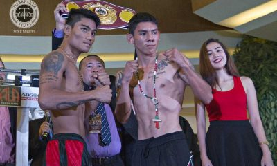 Tiebreaker Times Magnifico shrugs off potential Avalos bout, fights for the day Boxing News  Pinoy Pride 35 Pinoy Pride Mark Magsayo Eduardo Montayo ALA Boxing Promotions