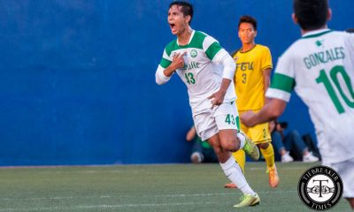 Tiebreaker Times Faith, discipline and hard work important for La Salle striker Joseph DLSU Football News UAAP  UAAP Season 78 Men's Football Tournament UAAP Season 78 Football Tournament UAAP Season 78 Rigo Joseph DLSU Men's Football Team DLSU Football