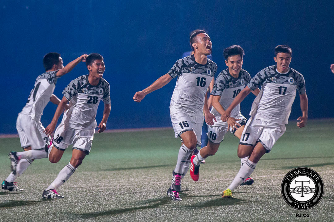 Philippine Sports News - Tiebreaker Times Bastisla-Ong embraces leadership role for surprise contenders UST Football News UAAP UST  UST Men's Football Team UST Golden Booters UAAP Season 78 Men's Football Tournament UAAP Season 78 Ronald Batisla-Ong
