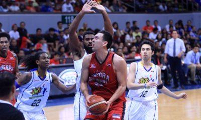 Tiebreaker Times Mercado, Slaughter says Ginebra has to be more consistent on defense Basketball News PBA  Sol Mercado PBA Season 41 Greg Slaughter Barangay Ginebra San Miguel
