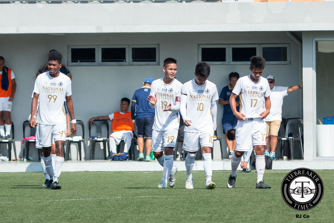 Tiebreaker Times Bulldogs bank on strong start ahead of challenging period Football News NU UAAP  UAAP Season 78 Football Tournament UAAP Season 78 Paolo Salenga NU Bulldogs Lem Laranas