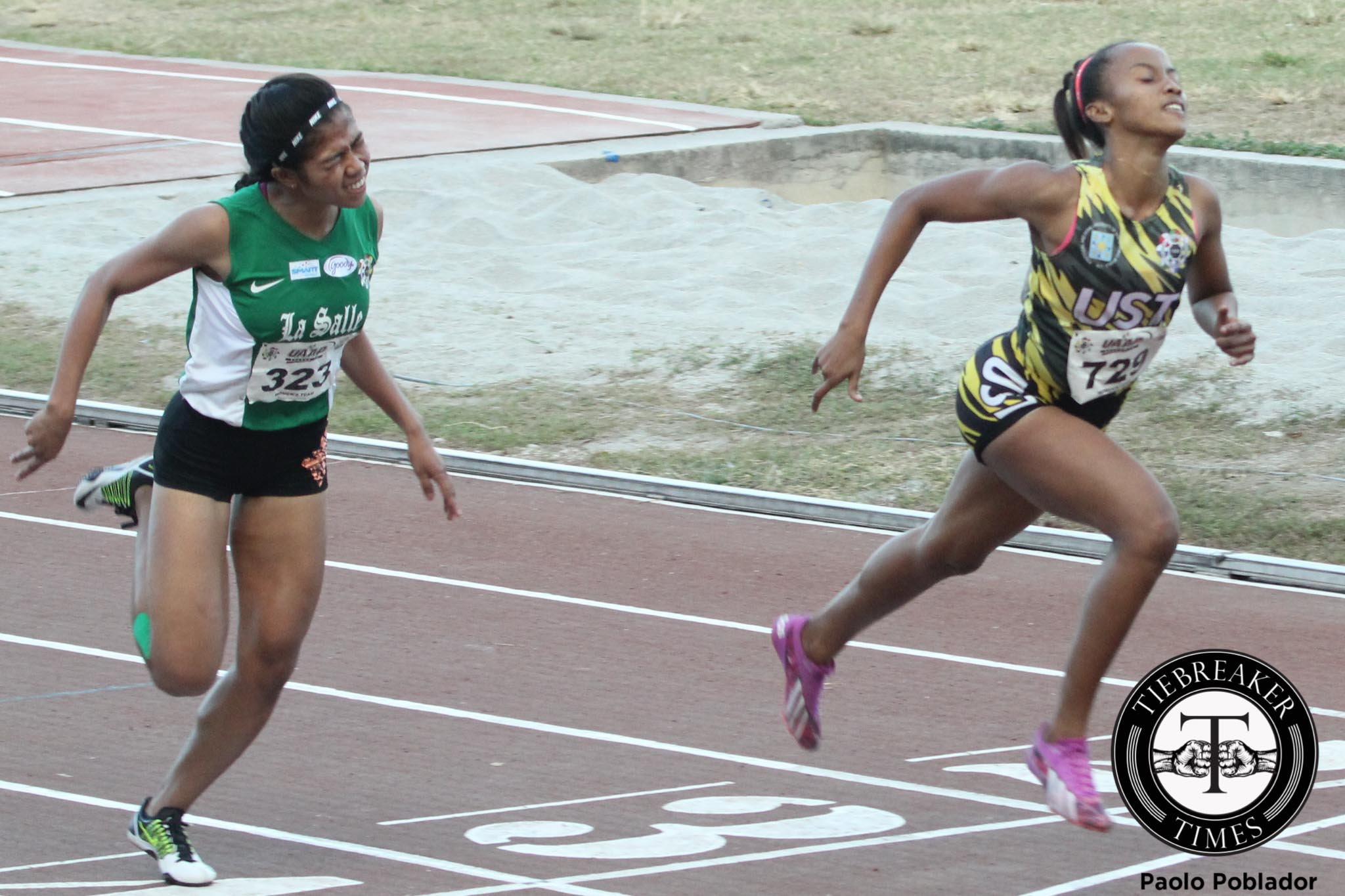 Tiebreaker Times UAAP Season 78 Women's Track and Field Championships Day 5 ADMU AdU DLSU FEU News NU Track & Field UAAP UE UP UST  UAAP Season 78 Track and Field UAAP Season 78 athletic UAAP Season 78