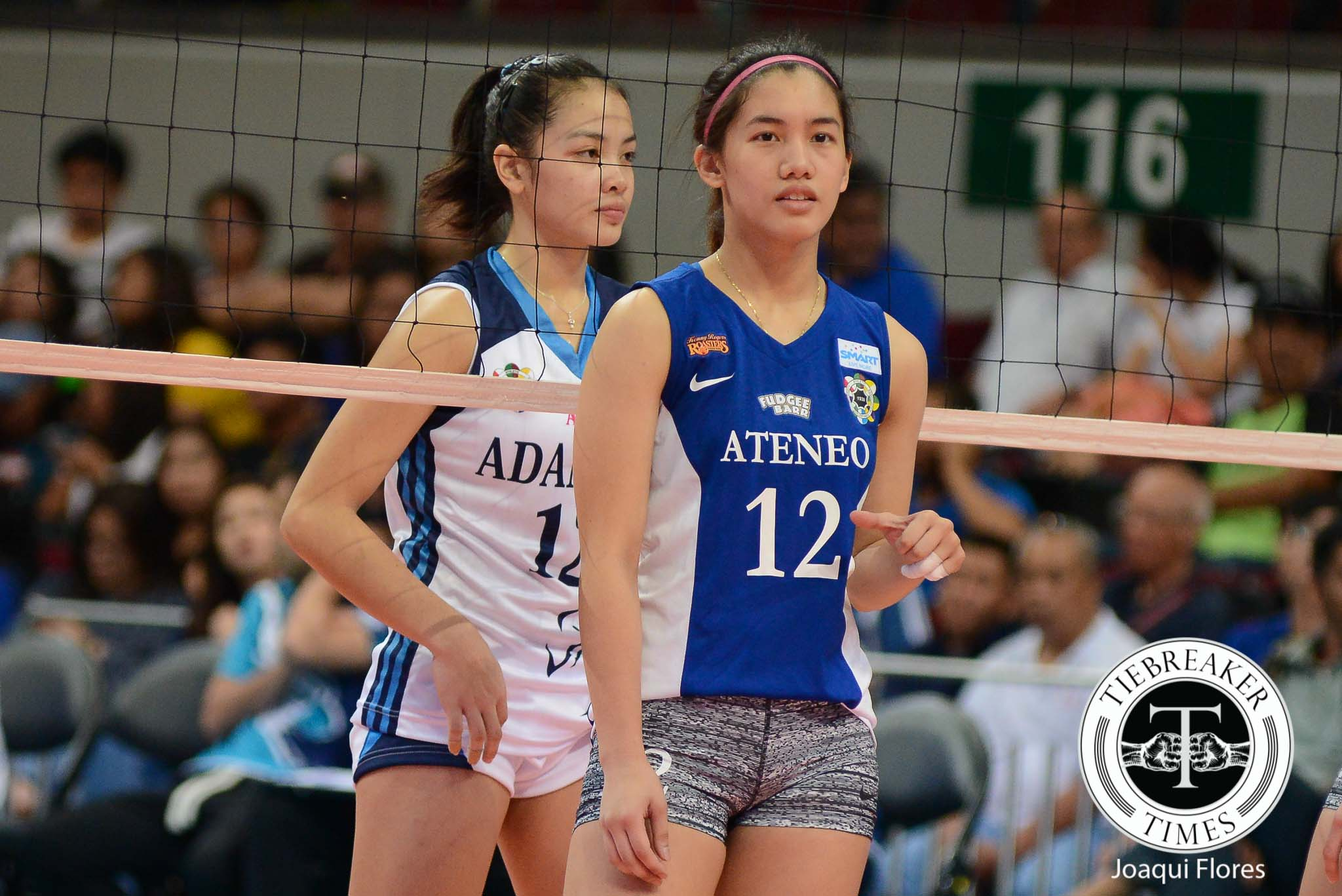 Tiebreaker Times Morado addresses Fajardo comparisons, La Salle match ADMU News UAAP Volleyball  UAAP Season 78 Women's Volleyball UAAP Season 78 Jia Morado Ateneo Women's Volleyball