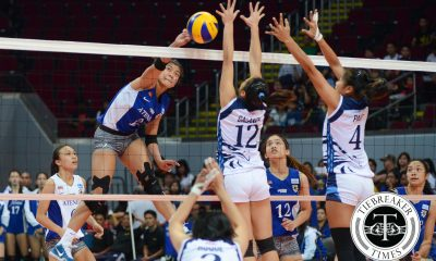Tiebreaker Times Valdez, Lady Eagles cruise to 5th win, keep Lady Falcons slumping ADMU AdU News UAAP Volleyball  UAAP Season 78 Women's Volleyball UAAP Season 78 Tai Bundit Sherwin Meneses Mylene Paat May Roque Maddie Madayag Keith Lebumfacil Jemma Galanza Jamie Lavitoria Ateneo Women's Volleyball Amy Ahomiro Alyssa Valdez Adamson Women's Volleyball