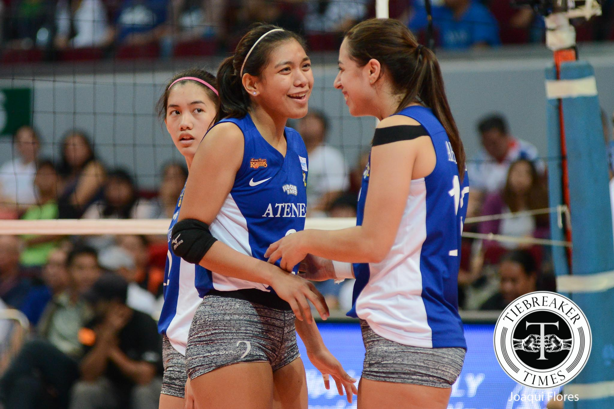 Tiebreaker Times Valdez on final stretch: 'Feeling ko ang tanda ko na' ADMU News UAAP Volleyball  UAAP Season 78 Women's Volleyball UAAP Season 78 Ateneo Women's Volleyball Alyssa Valdez