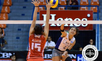 Tiebreaker Times Lady Eagles crush Lady Warriors days before Finals rematch ADMU News UAAP UE Volleyball  UE Women's Volleyball UAAP Season 78 Women's Volleyball UAAP Season 78 Tai Bundit Judith Abil Jho Maraguinot Francis Vicente Celine Domingo Bea De Leon Ateneo Women's Volleyball Anne Mendrez Alyssa Valdez