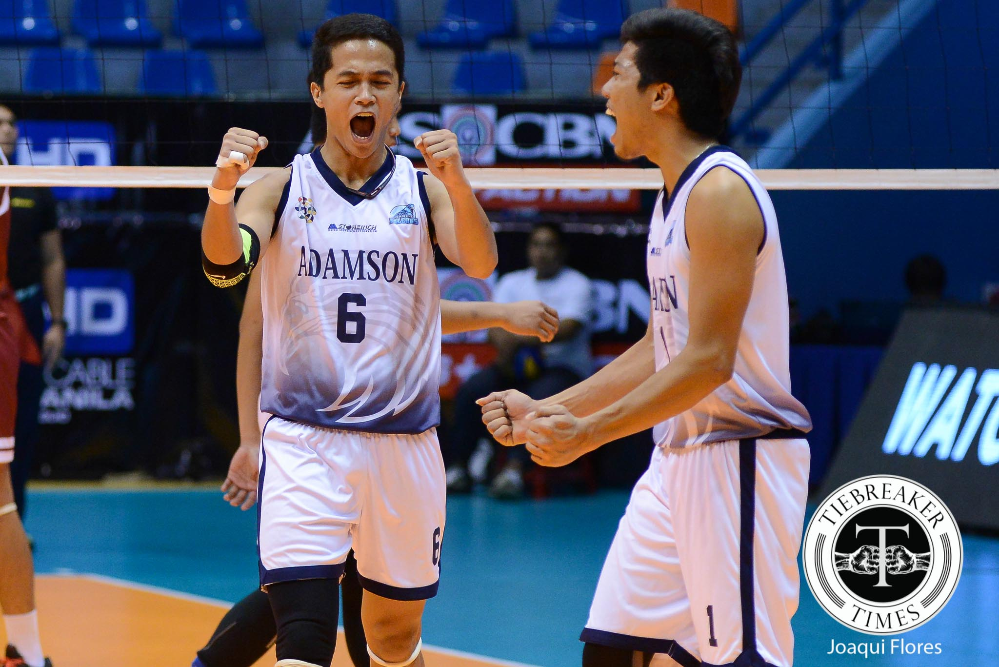 Tiebreaker Times Adamson evades UP upset, bags fifth consecutive win AdU News UAAP UP Volleyball  Wendel Miguel UP Men's Volleyball Team UAAP Season 78 Men's Volleyball Mike Sudaria Mac Millete Jerome Sarmiento Bryan Saraza Alfred Valbuena AdU Men's Volleyball Team