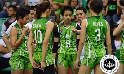 Tiebreaker Times For Galang, upcoming Ateneo bout set to gauge La Salle's progress DLSU News UAAP Volleyball  UAAP Season 78 Women's Volleyball UAAP Season 78 DLSU Women's Volleyball Ara Galang