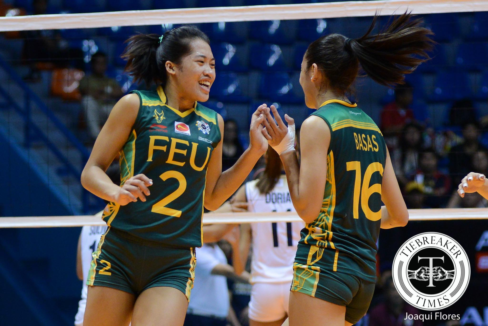 Tiebreaker Times Pons, FEU gain valuable confidence from tight DLSU match FEU News UAAP Volleyball  UAAP Season 78 Women's Volleyball UAAP Season 78 FEU Women's Volleyball Bernadette Pons