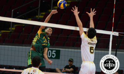 Tiebreaker Times Tamaraws nab third win at Tigers expense FEU News UAAP UST Volleyball  UST Men's Volleyball UAAP Season 78 Men's Volleyball UAAP Season 78 Richard Solis MAnuel Medina KR Guzman Jude Garcia JP Bugaoan Greg Dolor FEU Men's Volleyball