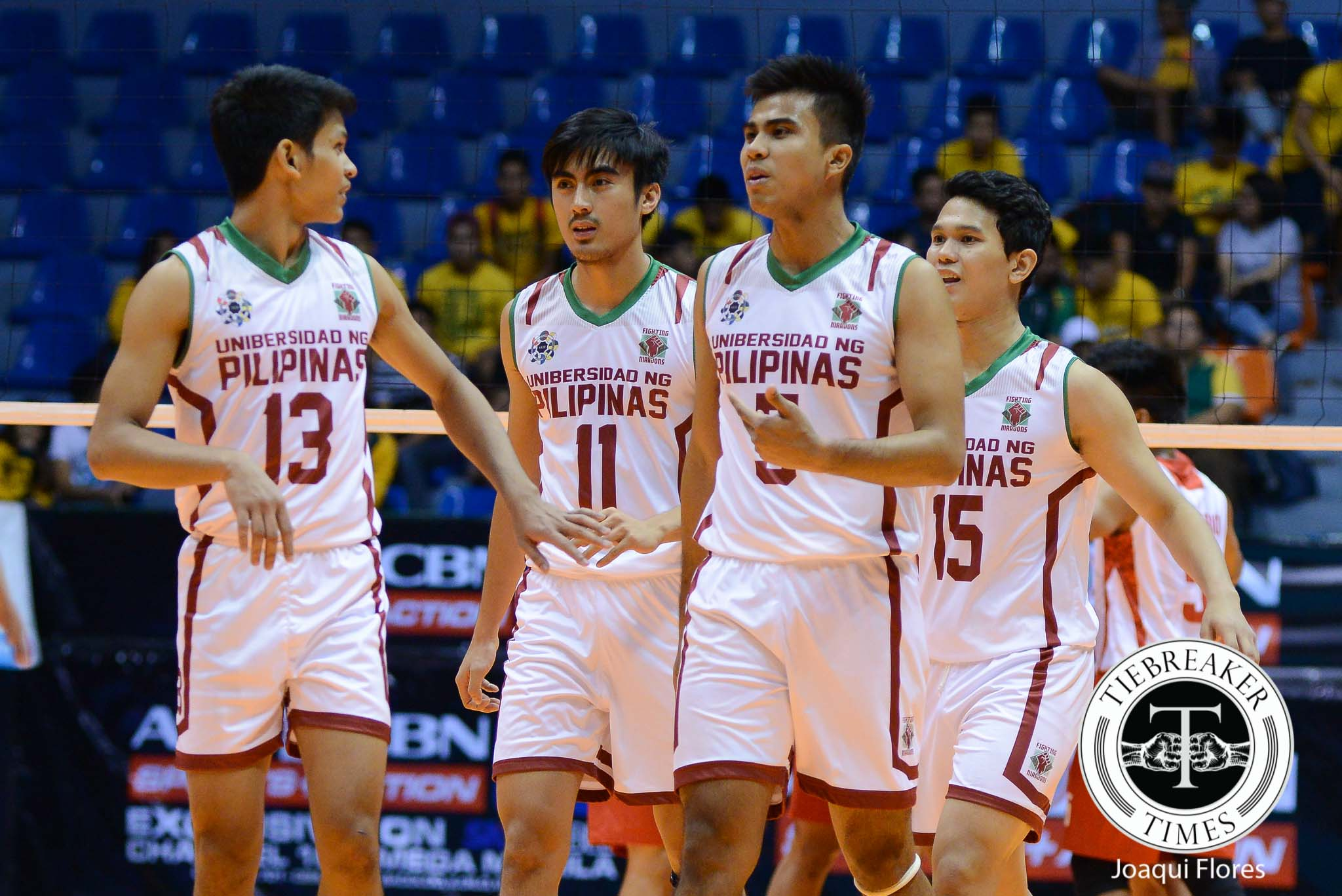 Tiebreaker Times Valbuena, Miguel lead UP past hungry UE News UAAP UE UP Volleyball  Wendel Miguel Vince Abrot UP Men's Volleyball UE Men's Volleyball UAAP Season 78 Men's Volleyball UAAP Season 78 Mark Millete Edward Camposano Alfred Valbuena