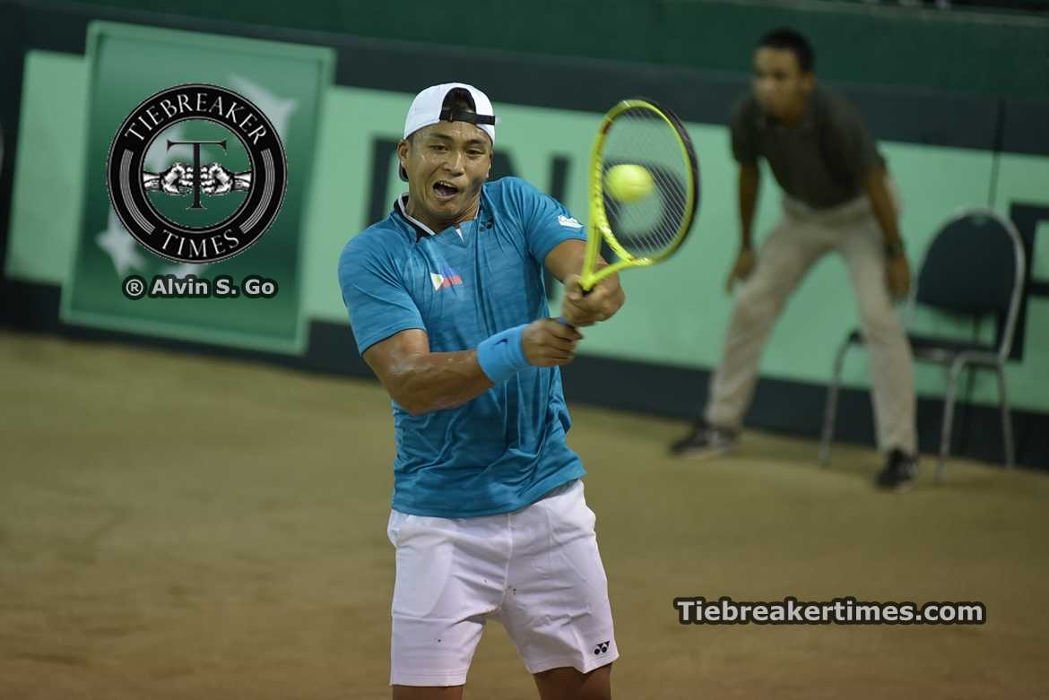 Philippine Sports News - Tiebreaker Times Patrombon, Gonzales put Philippines to 2-0 lead over Kuwait Davis Cup News Tennis  Ruben Gonzales Mohammad Ghareeb Kuwait Jeson Patrombon Abdulrahman Alawadhi 2016 Davis Cup Group II Asia-Oceania