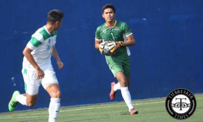 Tiebreaker Times UP more defensive-minded this season says goalkeeper Villanueva Football News UAAP UP  UP Men's Football Team UAAP Season 78 Men's Football UAAP Season 78 Ace Villanueva