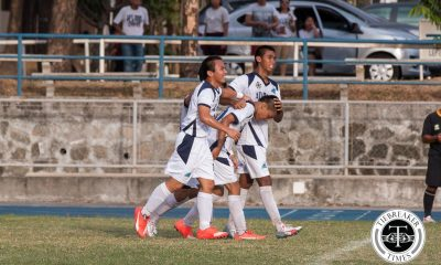 Tiebreaker Times Adamson displays strong mettle by challenging streaking UP AdU Football News UAAP  UAAP Season 78 Men's Football Tournament UAAP Season 78 Men's Football UAAP Season 78 Nolan Manito Jackson Ramos Adamson Men's Football Team