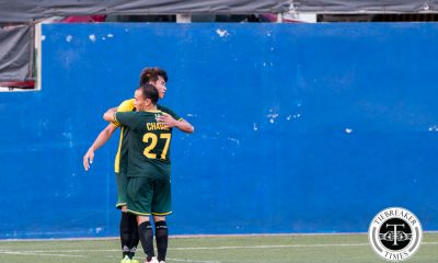 Tiebreaker Times FEU ends first round with dominant win over Adamson AdU FEU Football UAAP  Val Jurao UAAP Season 78 Football Tournament Rico Andes Paolo Bugas FEU Men's Football Team Eric Giganto Dexter Chio Dave Deloso Carlo Viray Audie Menzi Adamson Men's Football Team