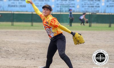 Tiebreaker Times Antolihao vows Tiger Softbelles comeback in Game 2 News Softball UAAP UST  UST Tiger Softbelles UAAP Season 78 Softball UAAP Season 78 Ann Antolihao