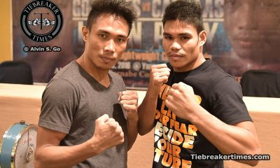 """Tiebreaker Times Saved by the Bell Boxing promises action-packed """"Laban Pinoy"""" card Boxing News  Saved by the bell Roberto Gonzales Jimmy Paypa Elmer Anuran Bernabe Concepcion Arjan Canillas"""