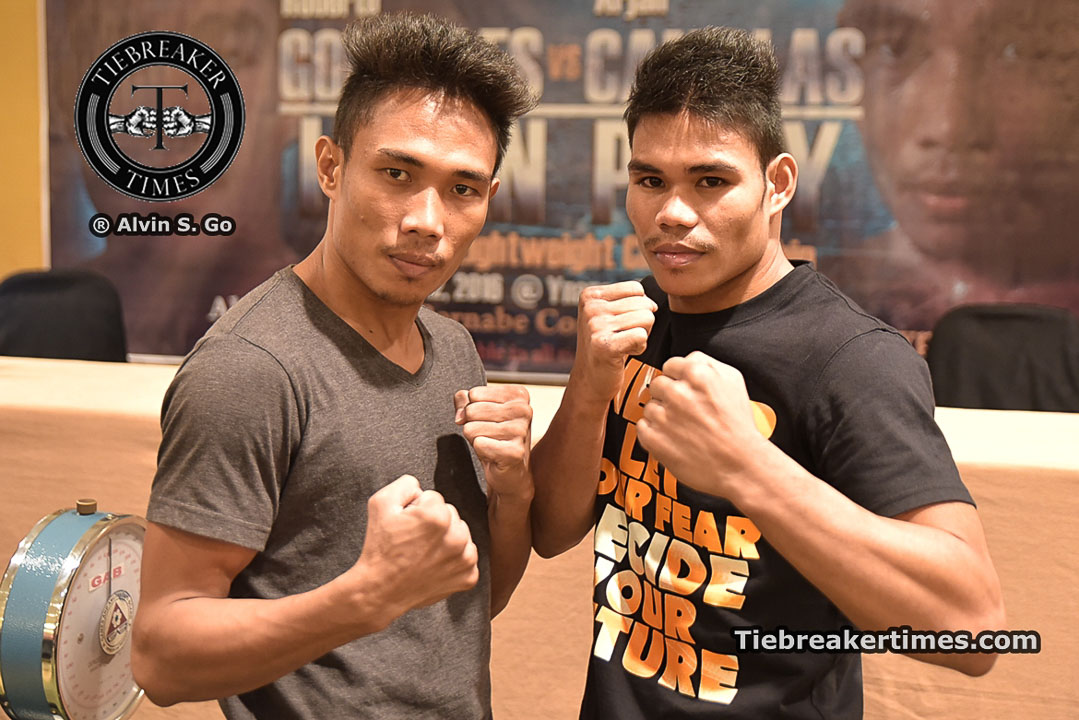 "Tiebreaker Times Saved by the Bell Boxing promises action-packed ""Laban Pinoy"" card Boxing News  Saved by the bell Roberto Gonzales Jimmy Paypa Elmer Anuran Bernabe Concepcion Arjan Canillas"