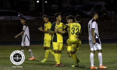 Tiebreaker Times League-leading Tamaraws ground floundering Falcons for fifth consecutive win AdU FEU Football News UAAP  UAAP Season 78 Football UAAP Season 78 RJ Joyel Rico Andes Paolo Bugas Nicolas Ferrer Michael Menzi Mark Joseph Arranguez Joshua Mulero John Renz Saldivar FEU Men's Football Team Eric Ben Giganto Dominique Canonigo Dexter Chio Dave Deloso Carl Viray Bryce Rabino Audie Menzi AdU Men's Football Team