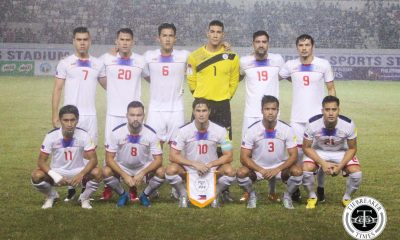 Tiebreaker Times PFF releases Azkals lineup for October friendlies Football News Philippine Azkals  Philippine Azkals