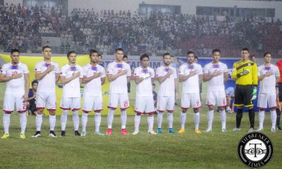 Tiebreaker Times Azkals up nine spots in latest FIFA Ranking update Football News Philippine Azkals  Philippine Azkals