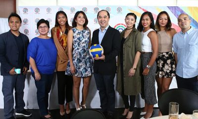 Tiebreaker Times BVR signs momentous partnership with ABS-CBN Beach Volleyball BVR News  Gretchen Ho Fille Cainglet-Cayetano Dzi Gervacio Charo Soriano Beach Volleyball Republic Bea Tan