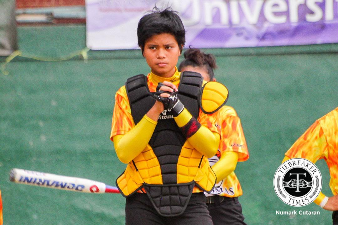Philippine Sports News - Tiebreaker Times Facing the Giants News Softball UAAP UST  UST Tiger Softbelles UAAP Season 78 Softball UAAP Season 78 Sandy Barredo Celestine Palma