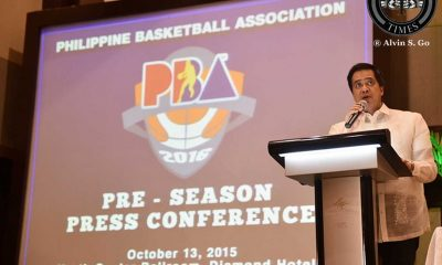 Tiebreaker Times Narvasa, Non speak on re-hiring of PBA marketing head Basketball News PBA  Robert Non Rhose Montreal PBA Season 41 Chito Narvasa 2016 PBA Commissioners Cup