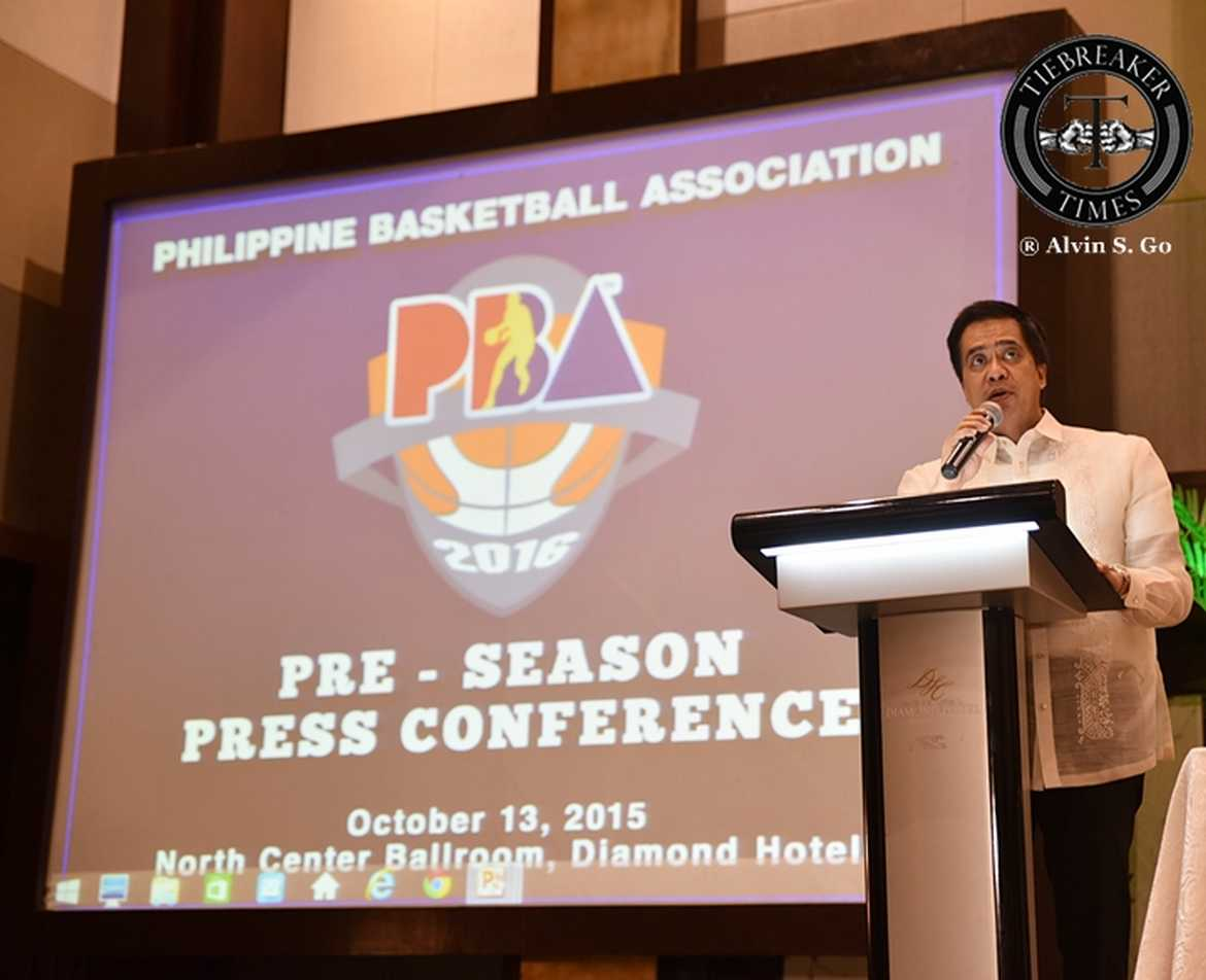Tiebreaker Times PBA Pass-Through: Narvasa new PBA CEO, Compton on Jeffers Basketball News PBA  PBA Season 41 Othyus Jeffers Chito Narvasa Alex Compton 2016 PBA Commissioners Cup