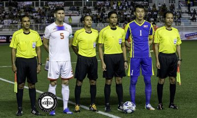 Tiebreaker Times Guirado enjoys fairytale finale with Philippines win over North Korea AFC Cup Football News Philippine Azkals  Rob Gier Philippine football Philippine Azkals North Korea Juan Luis Guirado Jerry Lucena Ceres-La Salle FC 2018 FIFA World Cup Qualifiers